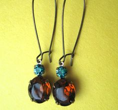 $10.00.  My favorite jewelry vendor.  Vintage Rhinestone and Swarovski Crystal Earrings.  https://www.etsy.com/listing/119542463/vintage-rhinestone-and-swarovski-crystal?ref=shop_home_active