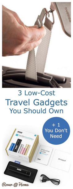 Here's a list of three inexpensive travel gadgets that should be part of your gear. These gizmos are cheap and they work great. They also make great gifts for travelers.