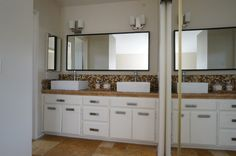 January 2015 Home Tour Master Bathroom Double Vanity