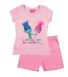 Dreamworks Trolls Pyjamas 7-8 and 9-10 Years Ages 4-5 5-6