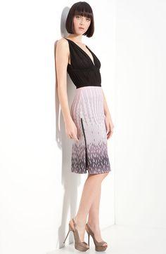 Combo Print Dress - Lyst
