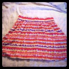 I just added this to my closet on Poshmark: Old navy tie dyed patterned skirt. Price: $8 Size: L