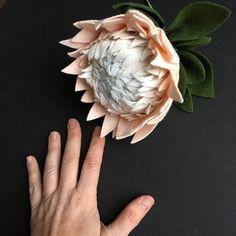 King Protea Build your own Bouquet Felt Flowers A La Carte King Protea, Flower Bar, Build Your Own, Felt Flowers, Wool Blend, Flower Arrangements, Bouquet, Decorations, How To Make