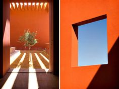 Architecture by Ricardo Legoretta. The master of playing with shadows