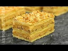 Prajitura Regala cu foi cu nuca , bezea si crema de caramel | ⭐By Adygio - YouTube Romanian Desserts, Romanian Food, Desserts With Biscuits, Creme Caramel, Something Sweet, Cornbread, Sweets, Baking, Cake