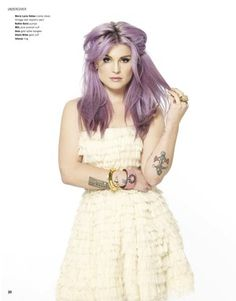Kelly Osbourne and MANIAC Magazine - Coolspotters