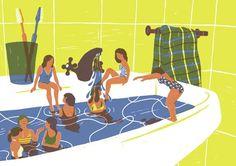 Marta Monteiro illustrates a world of tiny, rebellious lilliputian heroines