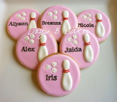Lizy B: Girlie Bowling Cookies!