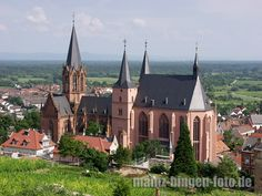 Katharinenkirche, Oppenheim, Germany -lived in this town for 3 years!