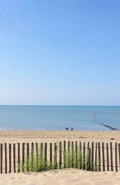 Balade sur la plage à Châtelaillon en Charente Maritime