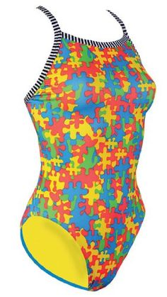 Dolfin Uglies Jigsaw Female $27.25 - $27.74 I have this suit love it!  Got mine at swimoutlet.com though.