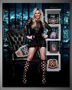 WWE Charlotte Flair.
