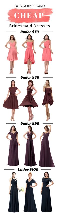 styles cheap bridesmaid dresses under under under under 70 in colors, custom made to all sizes including plus size. Great for wedding in spring, summer, fall and winter. Bridesmaid Dresses Under 100, Wedding Bridesmaids, Prom Dresses, Formal Dresses, Wedding Dresses, Bridal Shower Decorations, Just In Case, Beautiful Dresses, Wedding Inspiration
