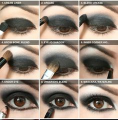 Makeup Madness: Dark Eye Shadow Tutorial