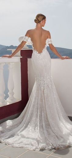 Julie Vino 2016 Santorini Collection | Bodas