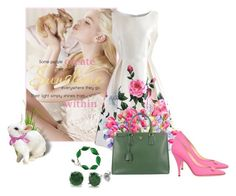 """""""Easter Morning"""" by krystalkm-7 ❤ liked on Polyvore featuring Chicwish, Improvements, Moschino, Prada and BERRICLE"""