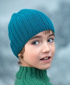 Patron tricot bonnet enfant à côtes