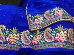 Nice blue punjabi suit
