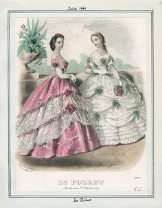 LAPL, Le Follet, July 1861
