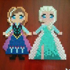 Frozen Elsa Perler Bead Pattern
