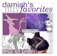 """&&✩; damiah's july favorites!"" by starlight-icons ❤ liked on Polyvore featuring art, damiahstips and damiahsfaves"