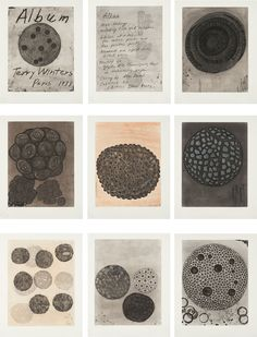TERRY WINTERS | Album portfolio, 1988 | The complete set of nine etchings with aquatint, two in colors, on Hahnemühle paper Sold for $16,25...