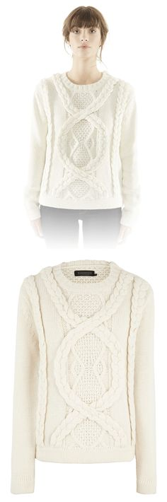 """""""Farille"""" Women's Wool Sweater from #Eleven Paris. This, on the other hand, is awesome"""