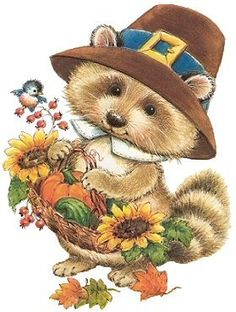 390 Best Thanksgiving Clipart Images On Pinterest