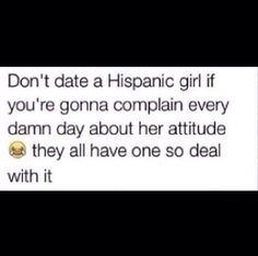 Dating a Hispanic girl
