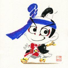 『歌舞伎のイラストレーション研究所!』