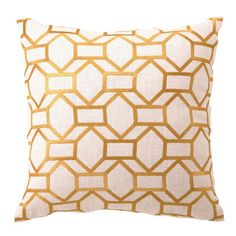 I pinned this Helix Pillow in Citron from the Trina Turk & D.L. Rhein event at Joss & Main!