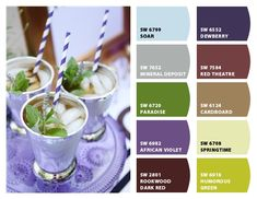 ColorSnap by Sherwin-Williams – AnnaMqn Sherwin William Paint, Red Green, Hue, Theatre, Lavender, Purple, Colors, Theatres, Colour