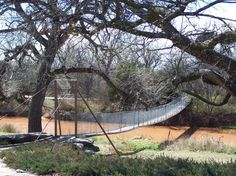 Wichita Falls Swinging Bridge Nice memories on this bridge.  Was last there in December 2012 with someone special.
