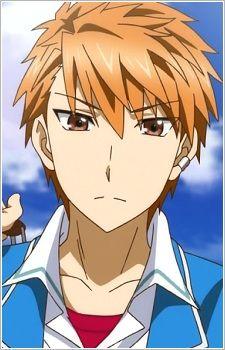Hot Anime Guys, Anime Boys, D Frag, Otaku, Cut Animals, Deadman Wonderland, Familia Anime, Anime Child, Gifs