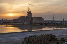 Salt windmill of Trapani
