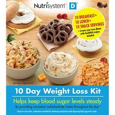 Nutrisystem Food D Kit Meals Products Weight Loss Snacks Breakfast Lunch for sale online Peanut Butter Cookies, Chocolate Chip Cookies, Lunch Snacks, Maple Brown Sugar Oatmeal, Cheddar Mac And Cheese, Granola Cereal, Ham And Bean Soup, Ketosis Diet, Weight Loss Snacks