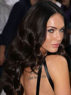 Megan Fox's Glossy Waves | allure.com