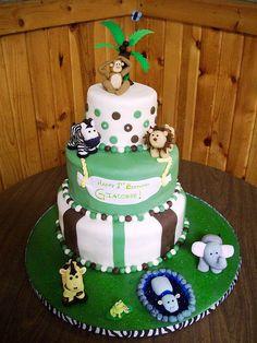 Jungle Cake by Kim C. (NJ), via Flickr