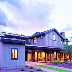 """Our Southwest Idea House was inspired by early Southwestern farms and ranches"""