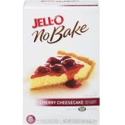 Jell-O No Bake Cherry Cheesecake Dessert Kit, 17.8 oz