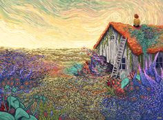 This is Betty's Place - James R Eads Illustration & Design