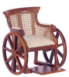 Dollhouse Miniature Platinum Collection Victorian Wheelchair