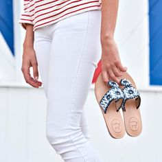 East Coast Prep, Liberty Lake, Navy Life, Patriotic Party, Flats, Sandals, Red White Blue, White Jeans, Slippers