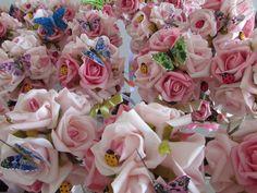 Topiara Rústica De Rosas Jardim II