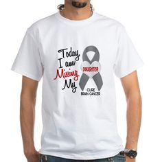 Shop Missing 1 Daughter BRAIN CANCER Men's Classic T-Shirts designed by AwarenessGiftBoutique. Lots of different size and color combinations to choose from. Yeezy Outfit, Mens Yeezy, T Shirt World, Fade Designs, Short Sleeve Tee, Classic T Shirts, Cancer, Shirt Designs, Tee Shirts