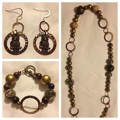 DIY jewelry! My newest creation!