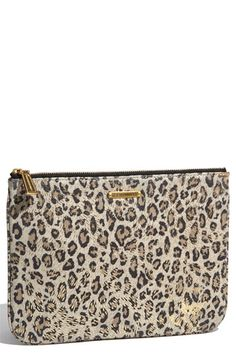 Rebecca Minkoff 'Summer - Kerry' Suede Leopard Print Pouch