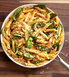 Roasted Red Pepper Pesto PenneDelish