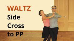 How to Dance Waltz - Side Cross to Promenade Types Of Ballroom Dances, Ballroom Dance Lessons, Ballroom Dancing, Ballroom Dress, Jazz Dance Costumes, Belly Dance Costumes, Salsa Dance Lessons, Kids Dance Classes, Dance Technique