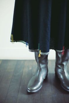 Babaghuri Fine Felted Wool Skirt